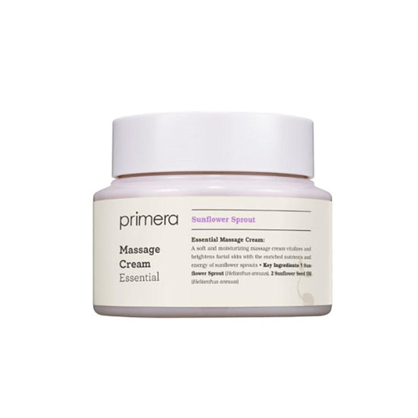 資本慣性タイル(プリメーラ) PRIMERA エッセンシャルマッサージ クリーム Essential Massage Cream (韓国直発送) oopspanda