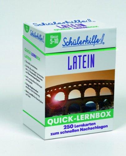 Quick-Lernbox Latein, 1.-6. Lernjahr
