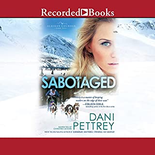 Sabotaged audiobook cover art