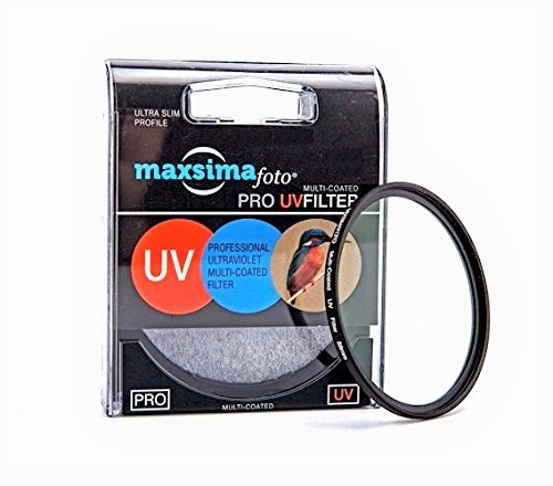 Maxsima - 58mm UV Lens Filter Protector for Fujifilm HS10, HS-10, HS20EXR, HS20, HS-20, HS22, HS25, HS30, HS33 Fuji Finepix,