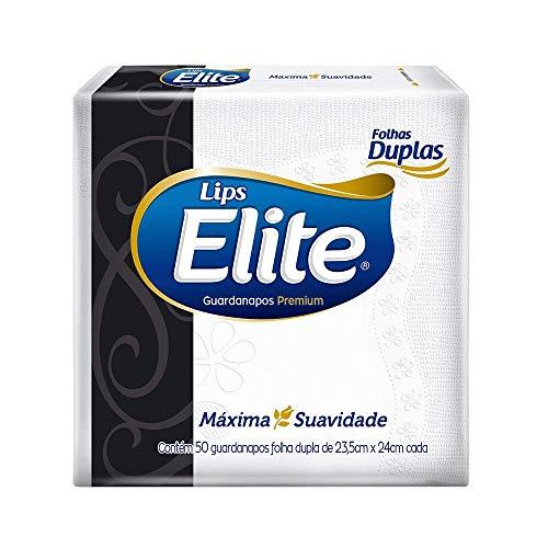 Guardanapos de papel Elite Premium Folha Dupla, 50 unidades de 23,5x24 cm