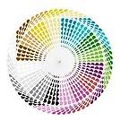 "4480 Pcs 3/4"" Round Color Coding Circle Dot Sticker Labels, 16 Colors for More Choices"