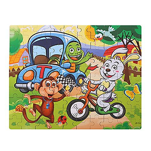L.G. Mechanische Rätsel 3D Puzzles aus Holz - Eltern-Kind-Spiele, Kinder Karikatur-Auto/Seetier Holzpuzzle for Kinder Geschenk Für Erwachsene, Familien und Kinder (Color : 014)