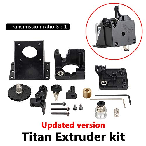 Titan extrusor piezas impresora E V6 Hotend j-head