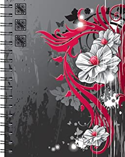Wire-O Journal- Anime Flowers- Large