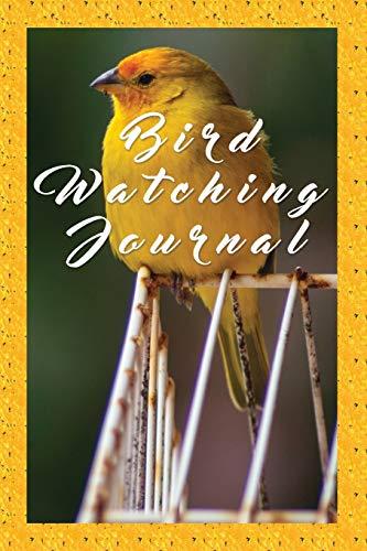 Bird Watching Journal: Field Book, Guide, Spotting List, Notebook & Logbook