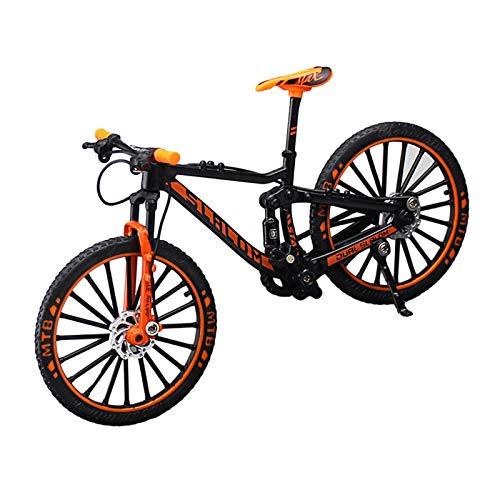 Mini-Fahrrad-Modell, Mountainbike-Modell Spielzeug, Alloy Wear Resistant Fahrrad Fahrrad Finger-Modell, Rennrad Mountainbike-Modell, Cool Boy Toy Kreatives Spiel Spielzeug Geschenk Für Jungen Mädchen