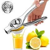 Spremiagrumi Limone Manuale,Acciaio Inossidabile 304 Spremi Limone,Limone Pressa Manuale Portatile di Alta qualità Anticorrosione per Frutta,Limoni,Arance