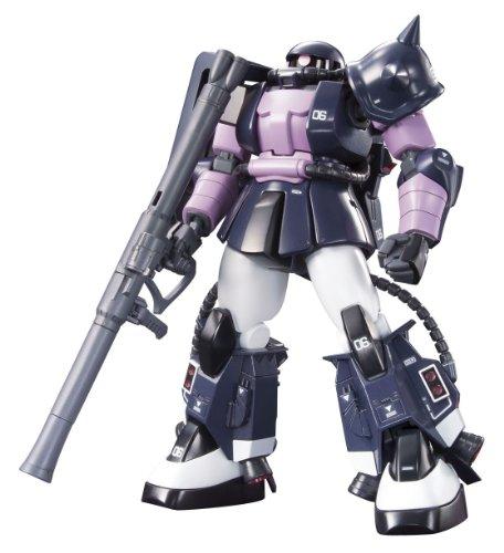 Tri-star Dom Zaku II black HGUC 1/144 MS-06R-1A (MSV) (japan import)