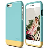iPhone 6 Case, elago [Glide][Coral Blue/Cream Yellow] - [Mix and Match][Premium Armor][True Fit] – for iPhone 6 Only