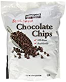Kirkland Semi Dulce Chocolate Chips 1 x 2.04kg