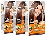 Kativa Keratina y Argán - Kit Alisado Brasileño PACK 3x150 ml