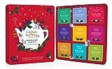 English Tea Shop - Premium Holiday Collection- Red Gift Tin - 72 Tea Bags Sachets, 108g