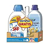 Pack Skip Líquido Active Clean 50 lavados + Mimosin Azul Vital 60 lavados - Pack de 2