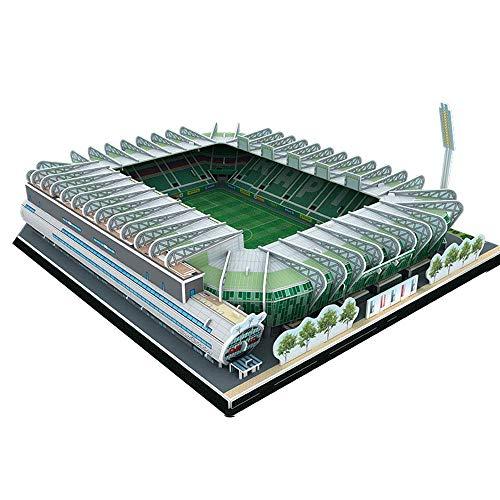 3D-Gebäude DIY Puzzle Model, Allianz Fußball Stadiom Fan Modell Geschenke der Kinder