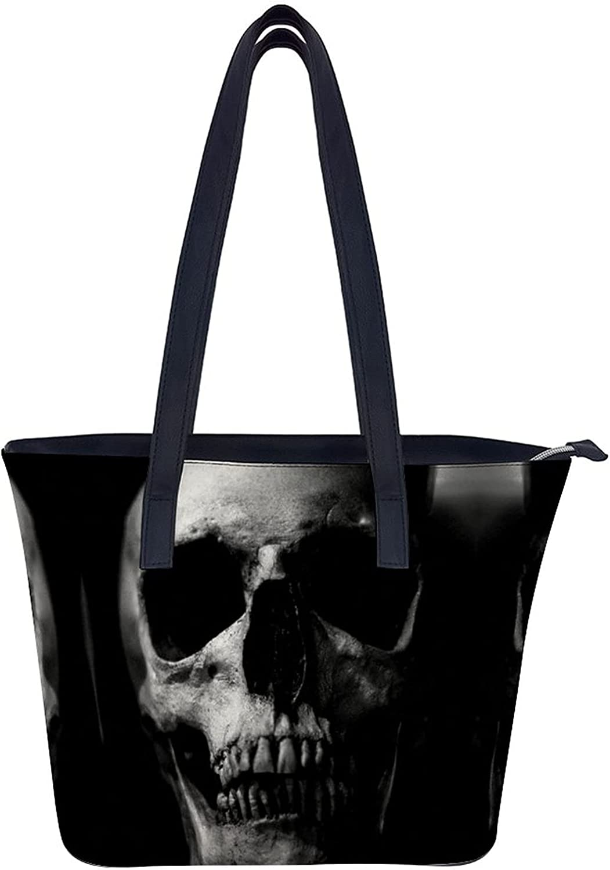 Jutdopt Skull Leather Ladys Shoulder Seasonal Wrap Introduction Crossbody Purse Bag Handbag Max 53% OFF