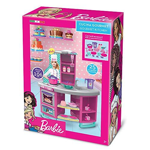 Grandi Giochi GG00525, Nuova Cucina di Barbie 106cm, Multicolore