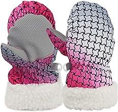 MU Wodoszczelne rękawice termiczne do jazdy na nartach, snowboardzie, dla chłopców i dziewczynek, dzieci, na zimę, śnieg, ...