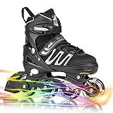 Woolitime Sports Adjustable Blades Roller Skates for Boys...