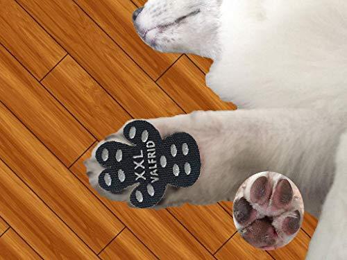 VALFRID - Protectores de Patas para Perro, Antideslizantes, Desechables, autoadhesivos, Resistentes, para Zapatos de Perro, Calcetines de Repuesto