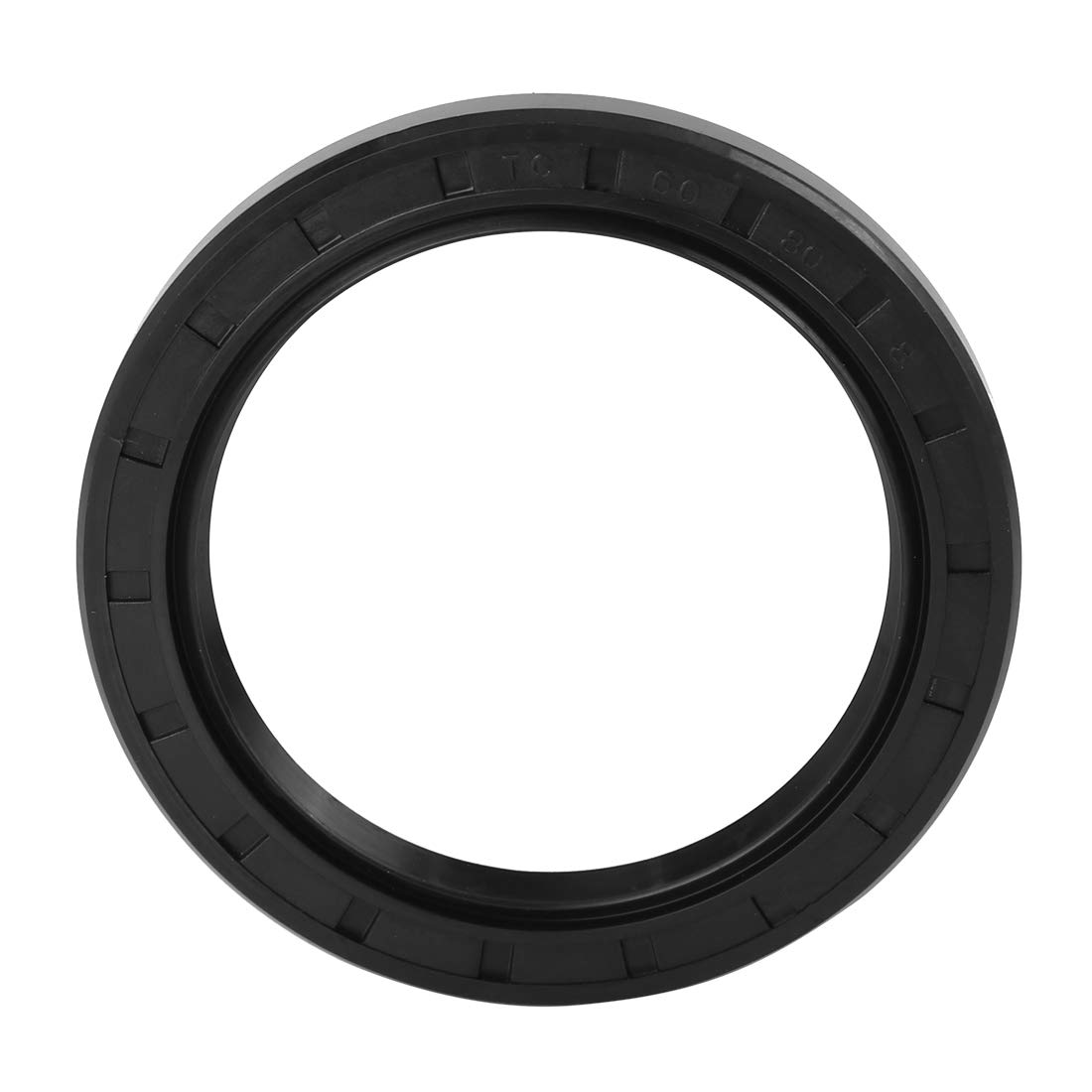 X AUTOHAUX 50mm X 70mm X 8mm Rubber Cover Double Lip TC Oil Shaft Seal for Car
