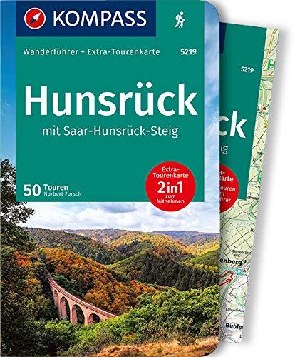 KOMPASS Wanderführer Hunsrück mit Saar-Hunsrück-Steig: Wanderführer mit Extra-Tourenkarte 1:75.000, 50 Touren, GPX-Daten zum Download