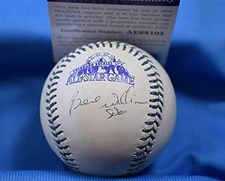 BERNIE WILLIAMS PSA DNA Coa Autograph 1998 All Star Hand Signed Baseball