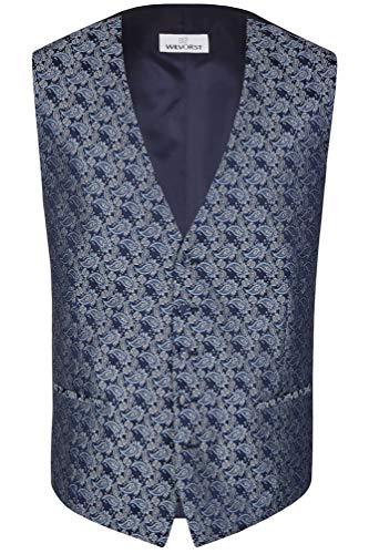 Wilvorst - Festliche Weste (487220/32 Modell 70), Größe:50, Farbe:Blau (32)