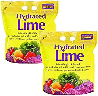 Bonide Chemical Number-5 Hydrated Lime for Soil - 5 Pounds 2 Pack