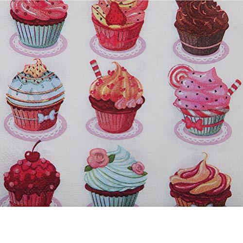 Wegwerp Partij Servies - Wegwerp 20 stks Tas Verjaardag Bruiloft Decoratie Partij Cake Papier Servet Weefsel Decoupage - Wegwerp Tableware Party Wegwerp Party Servies Zakdoek
