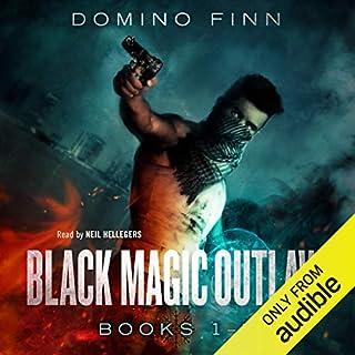 Black Magic Outlaw, Books 1-3 audiobook cover art