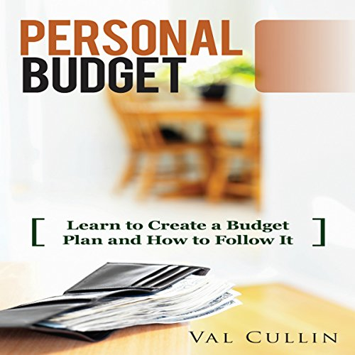 Personal Budget audiobook cover art