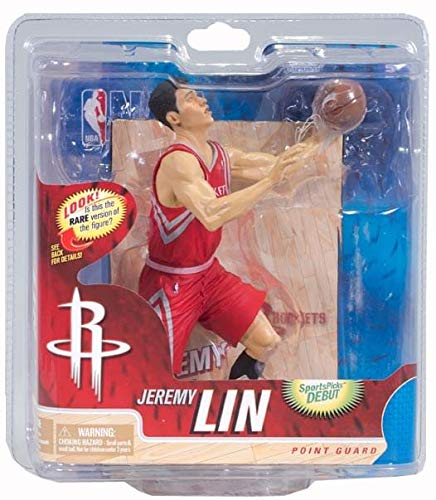 NBA Series 21 McFarlane Figure Jeremy Lin Houston Rockets (Bronze Level) Chase