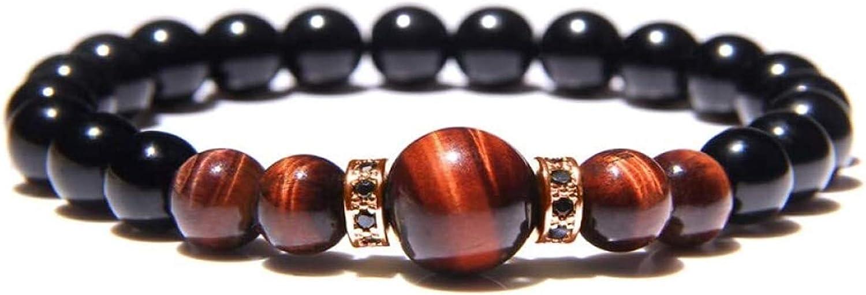ACCDUER Stone Bracelet Sale Ranking TOP15 Women 7 Chakra Natural Ston Eye Red Tiger