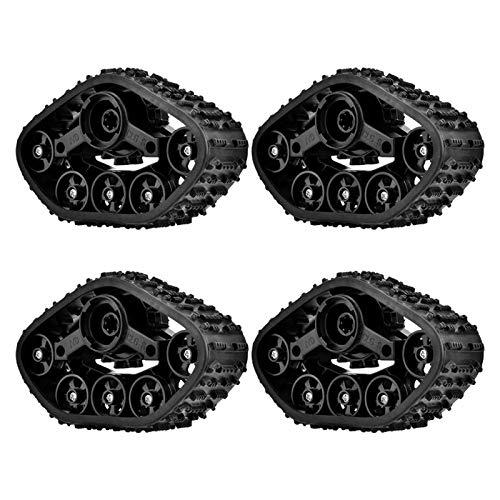 WMKD Neumático de Coche RC, Neumático de camión Militar RC, Camión de Goma Fuerte RC para Coche RC de Juguete RC