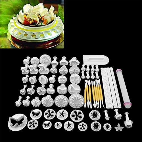 Why Should You Buy Cookie Mold - 68pcs Fondant Cake Decorating Sugar Craft Plunger Cookies Mold Moul...