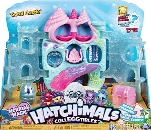 HATCHIMALS- Colleggtibles Coral Castle Playset, Colori Misti, 6045505