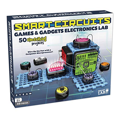 SmartLab Toys Smart Circuits Games and Gadgets Electronics Lab