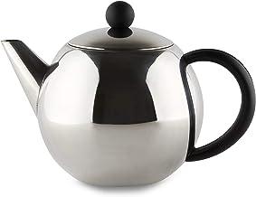 Café Ole Rondo dzbanek do herbaty ze stali nierdzewnej Easy Pour czajniczek z koszykiem na zaparzacz 50 ml 1500 ml