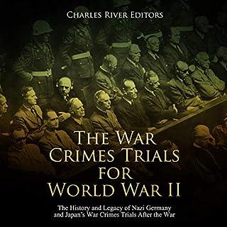 The War Crimes Trials for World War II cover art