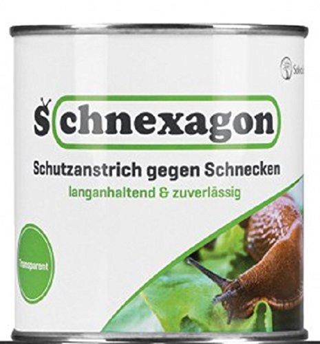 Schnexagon 4 x 375ml Schutzanstrich gegen Schnecken Bekannt aus der TV-ShowDie Höhle des Löwen