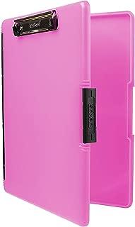 pink storage clipboard