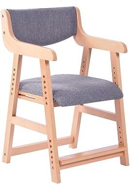 Dall Chaises JY-085 Couleur Solide Minimaliste Moderne Peut Être Assemblé Réglable Litre Goutte Enfant Étudiant Chaise en Boi