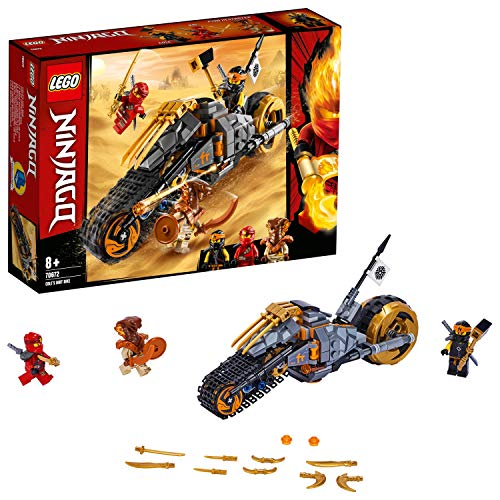 LegoNinjago70672 Coles Offroad-Bike, Bauset