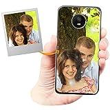 Coque Personnalisée avec Effet Brillance pour Motorola E4 Plus avec Votre Photo, Votre Image ou...