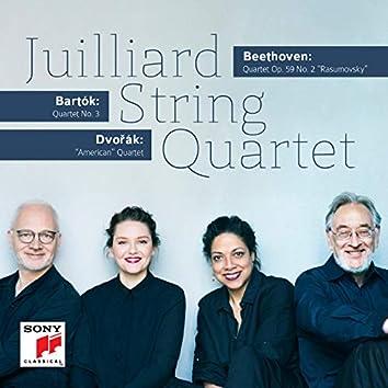 Beethoven - Bartók - Dvorák: String Quartets