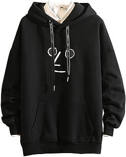 Bravetoshop Man Pullover Hoodie Sweatshirt, Autumn Winter Funny Long Sleeve Hoodies Drawstring Hooded Top Pocket