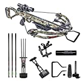 Killer Instinct Crossbows Hero 380 Crossbow Kit, Camo