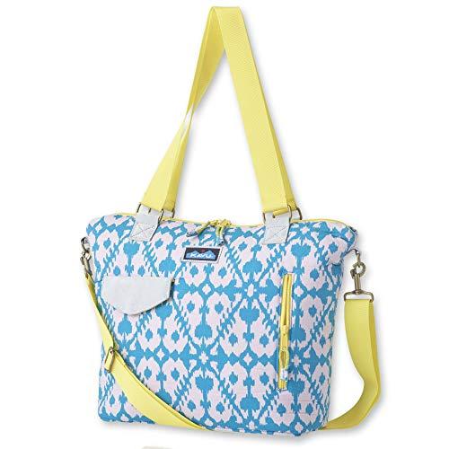 KAVU Barbs Bag Crossbody Bag Padded Travel Purse - Cool Blot
