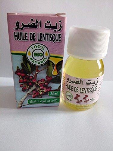 Olio vegetale puro di Lentisque Origine Marocco-Lentisco Oil 30 Ml